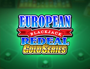 European Blackjack Gold Redeal